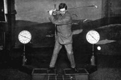 Golf swing Trainning Aid Circa 1914